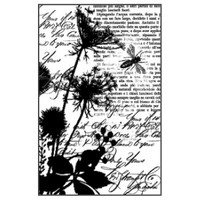 Stamperia High Definition Rubber Stamp - Texture bees