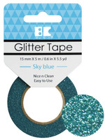 Best Creation Glitter Tape - Sky Blue
