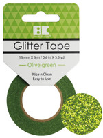Best Creation Glitter Tape - Olive Green