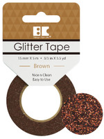 Best Creation Glitter Tape - Brown