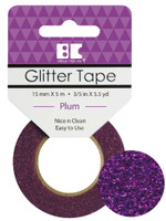 Best Creation Glitter Tape - Plum