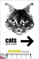 Carabelle A7 Stamps - Cats are Cool