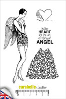 Carabelle A6 Stamps - Sweet As an Angel