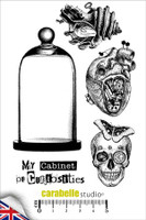 Carabelle A6 Stamps - Cabinet Of Curiosities
