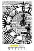 Carabelle A6 Stamps - Horloge: Un Jour,Une Histore