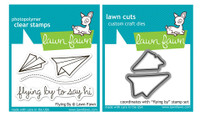 Lawn Fawn Stamps & Dies Bundle - Flying By