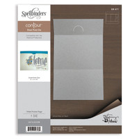 Spellbinders  Contour Dies : Trifold Pocket Page