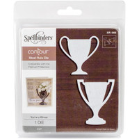 Spellbinders  Contour Dies : You're A Winner