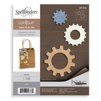 Spellbinders  Contour Dies Donna Salazar Collection  : Gears