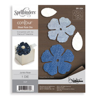 Spellbinders  Contour Dies Donna Salazar Collection  : Jumbo Rose