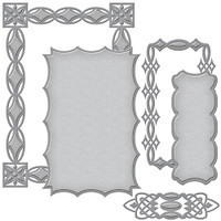 Spellbinders Card Creator Renaissance Collection : Jeweled Frame