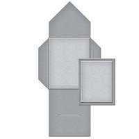 Spellbinders Shapeabilities Tammy Tutterow Collection - Tabbed Mini Pocket