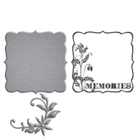 Spellbinders Stamp/Die  Set Donna Salazar Collection : Memories