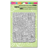 Stampendous Cling Stamp - Baby Background