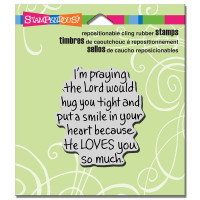 Stampendous Cling Stamp - Hug Prayer