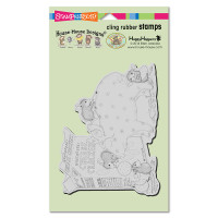 Stampendous: House Mouse Stamps- Bank Deposit