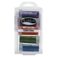 Stampendous 5-Jar Embossing Kit - Gemstone