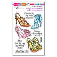 Stampendous Clear Stamps - Shoe Sense Perfectly