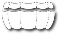 Memory Box Dies - Quilted Balloon Stripes