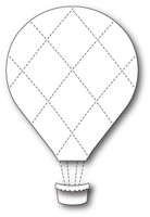 Memory Box Dies - Grand Quilted Balloon