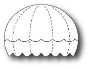 Memory Box Dies - Bright Balloon Stripes