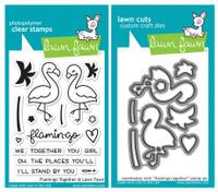 Lawn Fawn Stamps & Dies Bundle - Flamingo Together