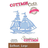 CottageCutz Elites Die - Large Sailboat