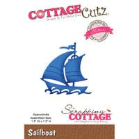 CottageCutz Elites Die - Sailboat