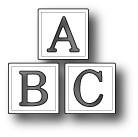 Memory Box Poppystamps Dies - ABC Blocks