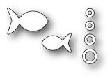 Memory Box Poppystamps Dies - Bubble Fish