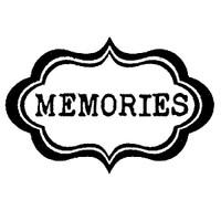 Stamperia High Definition Rubber Stamp -  Memories