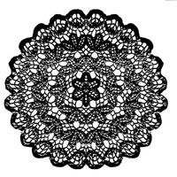 Stamperia High Definition Rubber Stamp -  Lace