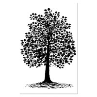 Stamperia High Definition Rubber Stamp -  Oak