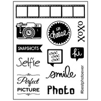 Stamperia High Definition Rubber Stamp -  Photo