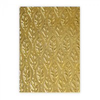 Sizzix 3-D Textured Impressions Embossing Folder by Katelyn Lizardi - Feathers
