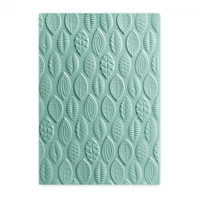 Sizzix 3-D Textured Impressions Embossing Folder by Lynda Kanase - Leaves