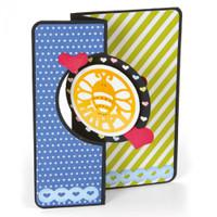 Sizzix Framelits Die Set 17PK by Stephanie Barnard - Card, Mini Circle Flip-Its