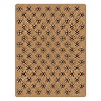 Sizzix Texture Fades Embossing Folder by Tim Holtz - Dotted Bullseye