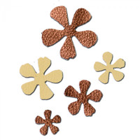 Sizzix Movers & Shapers Magnetic Die Set 5PK - Carnation Stack