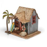 Sizzix Bigz Die - Village Surf Shack by Tim Holtz
