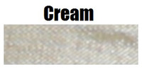 Seam Binding Ribbon (5 Yards) - Cream