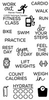 Technique Tuesday Clear Stamps 2X4 - Planner-Fitness