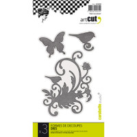 Carabelle Art Cut Die 3/Pkg - In The Nature