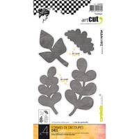 Carabelle Art Cut Die 4/Pkg - Foliage