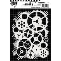 Carabelle Studio Mask A6 - Steampunk Gears
