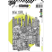 Carabelle Studio Cling Stamp A6 - New York