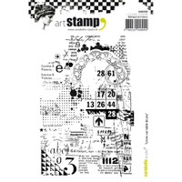 Carabelle Studio Cling Stamp A6 - Books On Gaming Table