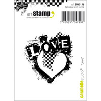 "Carabelle Studio Cling Stamp 2.75""X3.75"" - Love"