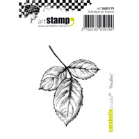 "Carabelle Studio Cling Stamp Small 2""X2.75"" - Leaves"
