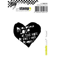 "Carabelle Studio Cling Stamp Small 2""X2.75"" - In Love"
